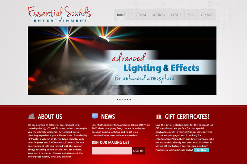 Essential Sounds Entertainment