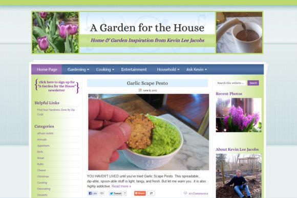A Garden for the House
