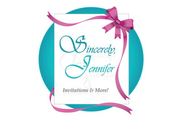 Sincerely Jennifer Invitations